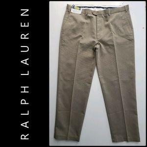 Ralph Lauren Men Flat Front Pants Size 42 Nwt